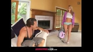 Daddy Punish his Little Daughter for Been a Bad Girl