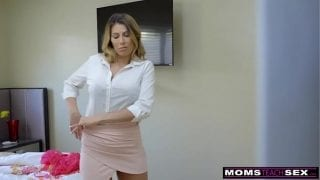 MomsTeachSex – Hot Mom Caught With StepSiblings In Threesome! S8:E6