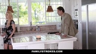 FamilyStrokes – Hot Mom Bails Son To Fuck