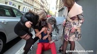Grannies hardcore gangbang sex videos