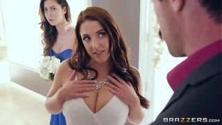 Real Brazers Wife fucked at home with family