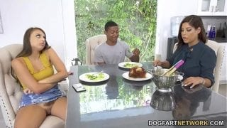 Stepmom Bridgette B Meets With Her Stepdaughter's New Boyfriend
