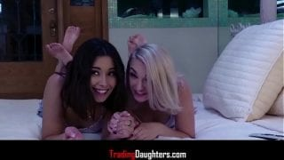 Trick or Treat with DAUGHTERS- Aria Lee and Stevie Grey