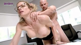 Hot Blonde Milf with Big Tits Must Fuck Her Boss to Keep her Job – Cory Chase