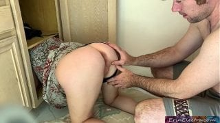 Stepmom gets stuck and fucked – Erin Electra