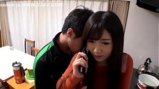 Japanese wife did lost her keys Part 2 | Full Familystrokes Japanese Movie