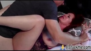 Andi James in Sleep fucking Stepmom forcefully | Familystrokes Stepmom