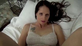 Mom & Son Share a Bed – Mom Wakes Up to Son Masturbating | Familystrokes
