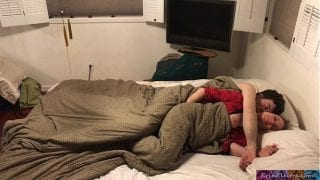 Stepmom shares bed with stepson – Erin Electra