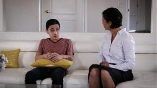Awkward Mom And Stepson Situation Turn Into Hard Fuck | Dana Vespoli